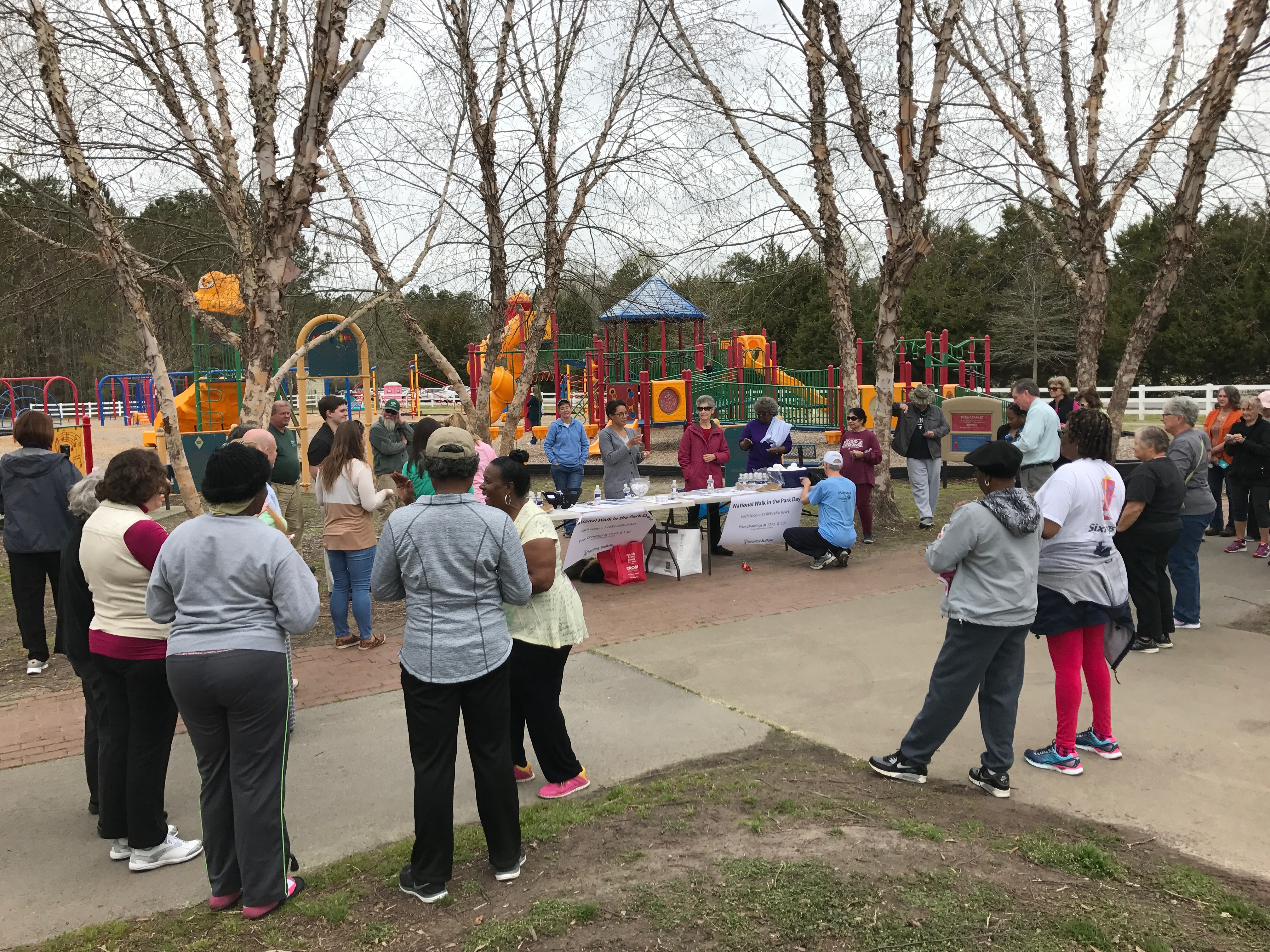 National Walk in the Park Day